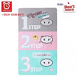 [Holika Holika] *Time Deal*  Pig Clear Black Head 3-step Kit 1 Sheet
