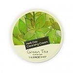 [The face shop]Herbday Crema limpiadora Té Verde 150ml
