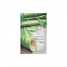 [Nature Republic] Real Nature mascarilla Sheet/ Bamboo23ml