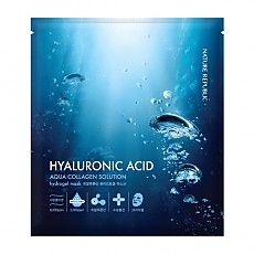 [Nature Republic] Aqua Collagen Solution Hyaluronic Acid Hydrogel mascarilla 20g