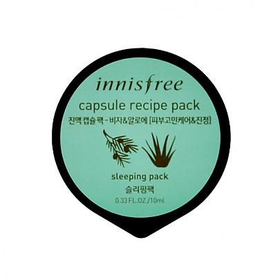 [Innisfree] Cápsula de receta pack #Bija & Aloe 10ml
