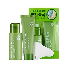 [Nature Republic] Bamboo Charcoal Nose & T-zone Pack