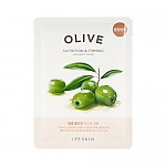 [It's Skin] The Fresh mascarilla Sheet Olive