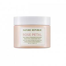[Nature Republic] Real Fresh Rose Petal Moisture mascarilla