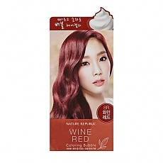 [Nature Republic] Hair and Nature Coloring Bubble Wine Red