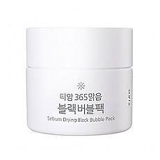 [Tiam] Sebum Drying Black Bubble Pack 80ml