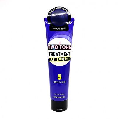 [Etude house] Two Tone Treatment Hair Color #05 (Fantasy Blue)