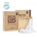 [So natural] Smooth Body Bubble Bath Cube Soap #01 (Powder)