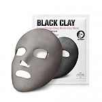 [So natural] Design Deep Black Clay Mask