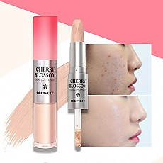 [CORINGCO] Cherry Blossom Dual Concealer #21 (Light Ivory)