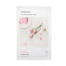 [Innisfree] My Real Squeeze mascarilla (Rose)