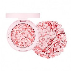 [The face shop] Marble Beam Blush & Highlighter #01 (Pink)