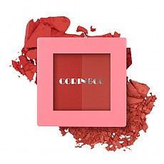 [CORINGCO] Pink Square Dual Cheek #02