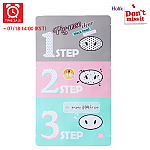 [Holika Holika] *Time Deal*  Pig Clear Black Head 3-step Kit 1 Sheet