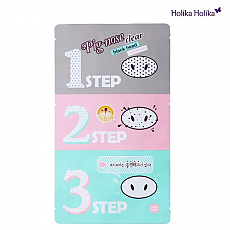 [Holika Pig Clear Black Head 3-step Kit 1 Sheet