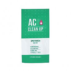 [Etude house] AC Clean Up Spot Patch 1hoja