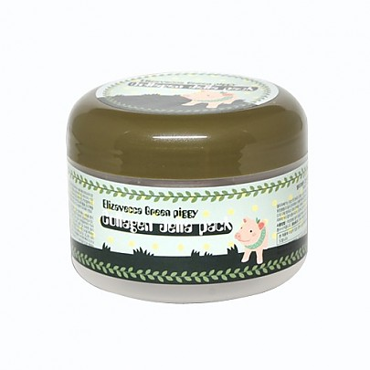 [Elizavecca] Green piggy collagen jella pack 100g (Sleeping Mask,For Moisturizer)Collagen 50%(50,000mg of Collagen)
