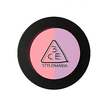 [3CE] Duo Color Face Blush (Creme De Violette)