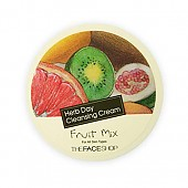 [The face shop] Herbday Crema limpiadora Fruit Mix 150ml