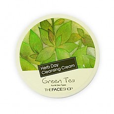 [The face shop] Herb Day Cleansing Cream Green Tea 150ml