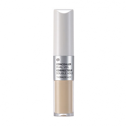 [The face shop] Concealer Dual Veil (V107 Ivory Beige)