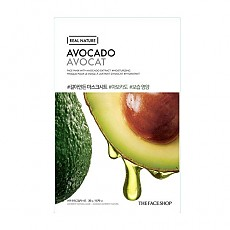 [The face shop] Real Nature mascarilla (Avocado)