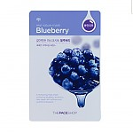[The face shop] Real Nature mascarilla (Blue Berry)