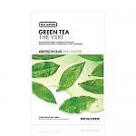 [The face shop] Real Nature mascarilla (Green Tea)