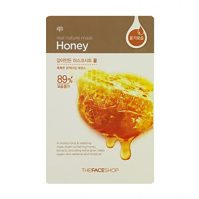 [The face shop] Real Nature mascarilla (Honey)