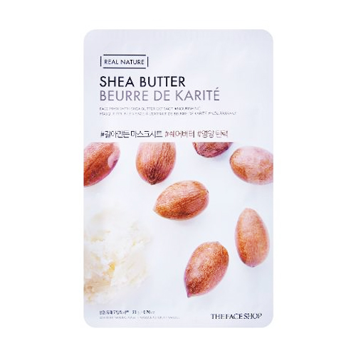 [The face shop] Real Nature mascarilla (Shea Butter)