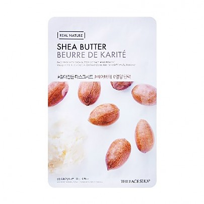 [The face shop] Real Nature mascarilla (Shea Butter)
