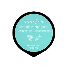 [Innisfree] Capsule sleeping pack #Jeju bija & teatree 10ml