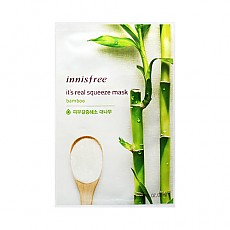 [Innisfree] It's Real Squeeze Mask Sheet (Bamboo) 20ml