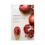 [Innisfree] It's Real Squeeze Mascarilla de Hoja  (Pomegranate) 20ml
