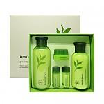 [Innisfree] Paquete de Cuidado de la Piel de Té verde (para todo tipo de la piel) 1set, 5pcs, Skin 200ml, Lotion 160ml