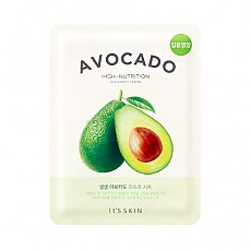 [It's Skin] The Fresh mascarilla Sheet Avocado
