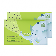 [Nature Republic] Blackhead Clear Nose Pack(7ea)