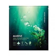 [Nature Republic] Aqua Collagen Marine solution Hydrogel mascarilla