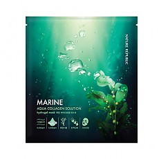 [Nature Republic] Aqua Collagen Marine solution Hydrogel mascarilla
