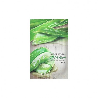 [Nature Republic] Real Nature mascarilla Sheet/ Aloe23ml