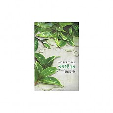 [Nature Republic] Real Nature mascarilla Sheet/ Green tea 23ml