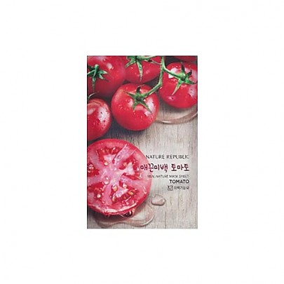 [Nature Republic] Real Nature mascarilla Sheet/ Tomato 23ml