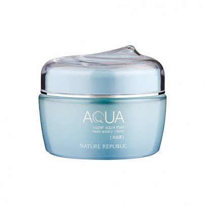 [Nature Republic] Super Aqua max fresh Watery cream(for oily skin)