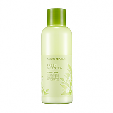 [Nature Republic] Fresh Green Tea 70 Emulsion 180ml