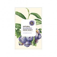 [The saem] Natural Blueberry mascarilla Sheet
