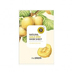 [The saem] Natural Gold Kiwi mascarilla Sheet