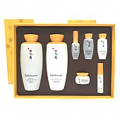 [Sulwhasoo] Essential Duo Set ( Essential Balancing Water 4.23 Oz/125Ml + Essential Balancing Emulsion 4.23Oz/125Ml + 5 Travel Kit )