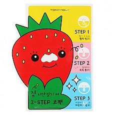 [Tonymoly] Strawberry 3 step nose pack