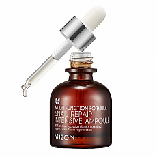 [Mizon] Snail Intensive Repair Ampoule 30ml (Elastic, Anti-Wrinkle, Low Irritaion, Snail Serum)
