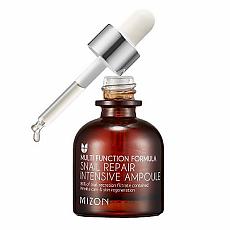 [Mizon] Snail Intensive Repair Ampoule 30ml (Elastic, Anti-Wrinkle, Low Irritaion, Snail Serum)